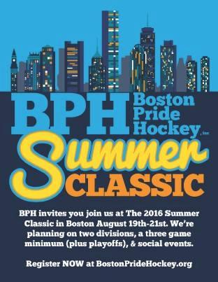 Boston Pride Hockey Summer Classic
